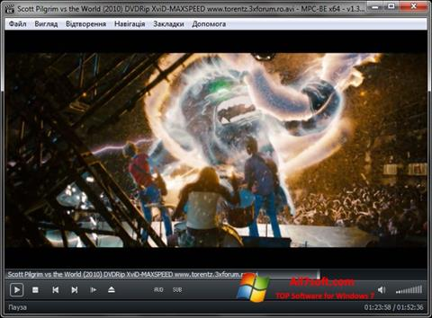 Screenshot MPC-BE Windows 7