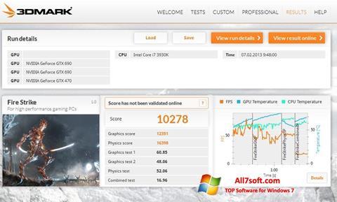 Screenshot 3DMark Windows 7