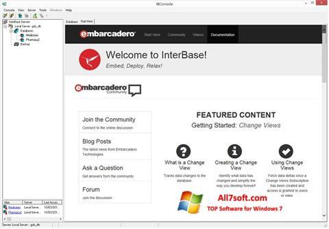 Screenshot InterBase Windows 7