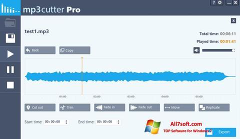 Screenshot MP3 Cutter Windows 7