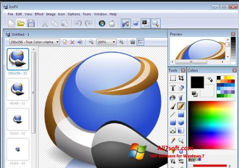 Screenshot IcoFX Windows 7