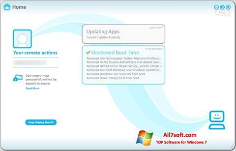 Screenshot Soluto Windows 7