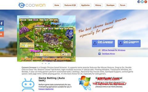 Screenshot Coowon Browser Windows 7