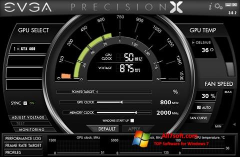Screenshot EVGA Precision X Windows 7