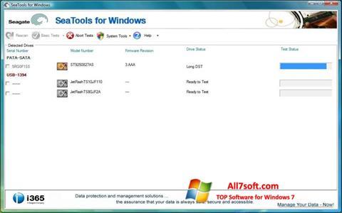 Screenshot Seagate SeaTools Windows 7