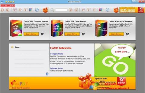 Screenshot Doc Reader Windows 7