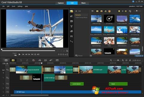 Screenshot Corel VideoStudio Windows 7