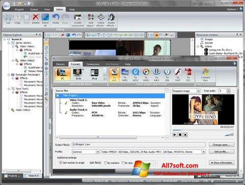 Screenshot Free Video Editor Windows 7