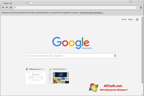 Screenshot Google Chrome Windows 7