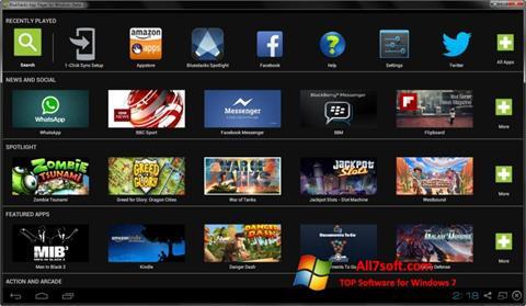 Screenshot BlueStacks Windows 7