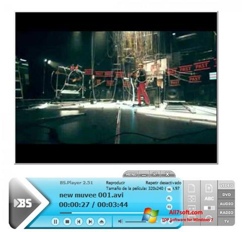 Screenshot BSPlayer Windows 7