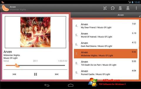 Screenshot Clementine Windows 7