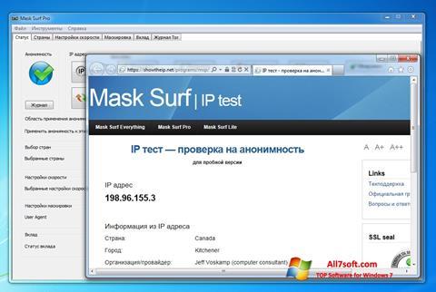 Screenshot Mask Surf Windows 7