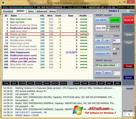 Screenshot Victoria Windows 7