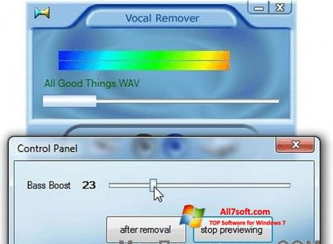 Screenshot Yogen Vocal Remover Windows 7