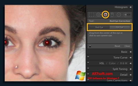 Screenshot Red Eye Remover Windows 7
