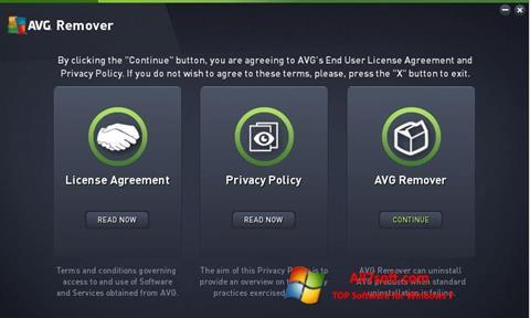Screenshot AVG Remover Windows 7