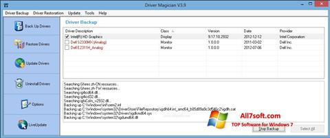 Screenshot Driver Magician Windows 7