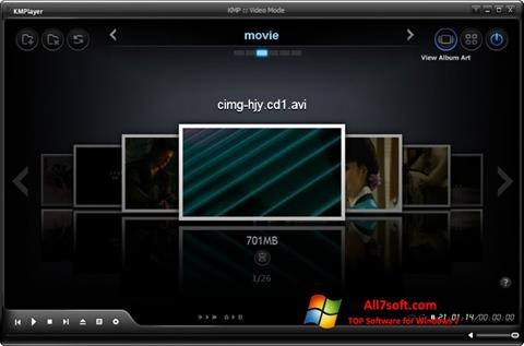 Screenshot KMPlayer Windows 7