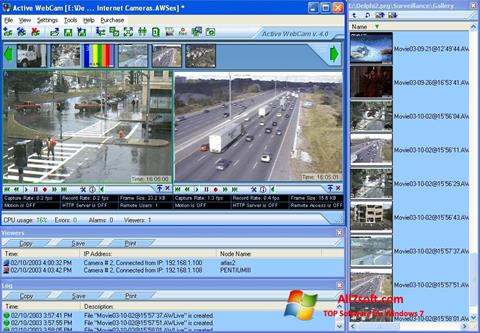Screenshot Active WebCam Windows 7